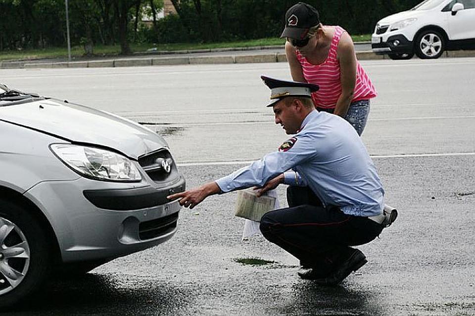 Фиксация повреждений авто в протоколе о ДТП