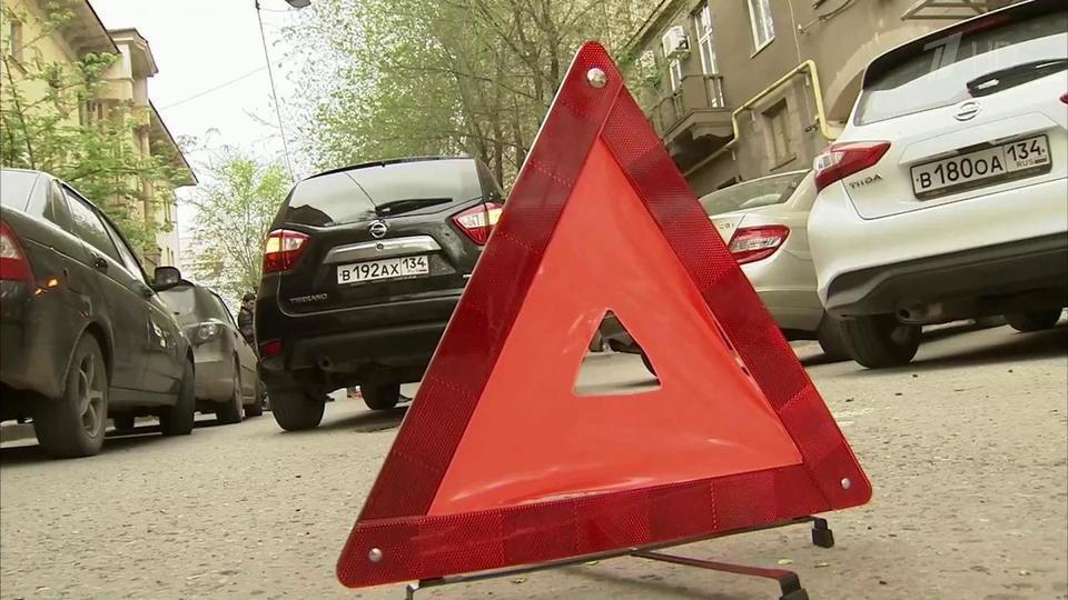 Знак аварийной остановки при аварии