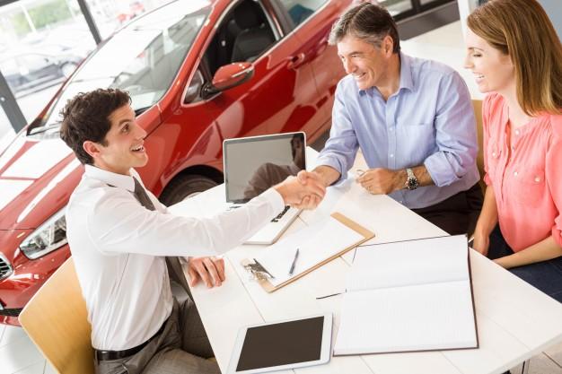 Заключение договора о покупке автомобиля