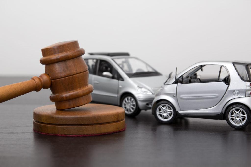Судебное разрешение споров о виновности в ДТП