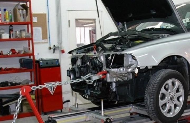 Ремонт кузовных деталей авто