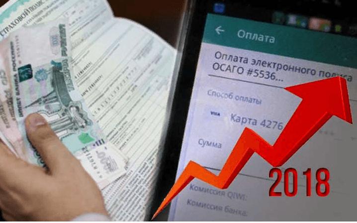 Рост цен на страховой полис